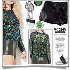 Yoins XIII/3 by ewa-naukowicz-wojcik on Polyvore featuring moda, MAKE UP FOR…