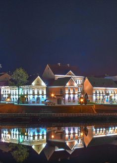 Minsk at night -6 by Uladzimir Mikhaliuk (Belarus)