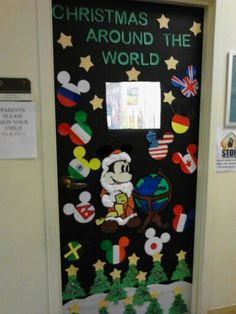 92 best Christmas classroom door decoration images on Pinterest in ...