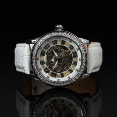 MA 145L Constellation Skeleton Face, Purple Leather, Mechanical Watch, Watch Brands, Constellations, Best Sellers, Watches For Men, My Favorite Things, Accessories