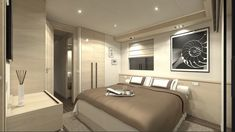 You have never seen a houseboat like this! Starting at and going up to they look like a hybrid boat/trailer. The pricing we have seen this OverBlue yacht will run you but looking at the range and comfort Might be a nice alternative to a big Sea Ray! Luxury Duvet Covers, Luxury Bedding Sets, Water House, Boat House, Cost To Build, Penthouse Apartment, Floating House, Yacht Design, Boats