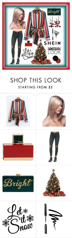 """""""Shein"""" by explorer-14673103603 on Polyvore featuring Fendi, Concrete Minerals and Bobbi Brown Cosmetics"""