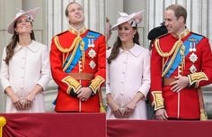 Kate Middleton made her last public appearance before giving birth. The pregnant Duchess of Cambridge attended the Trooping of the Colour parade - hellomagazine.com