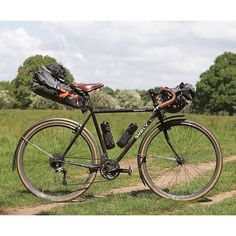 Surly Bikes x Ortlieb Packs  Lovely bikepacking-setup from PannierCC