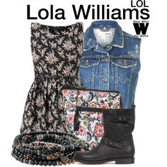 Inspired by Miley Cyrus as Lola Williams in 2012's LOL.