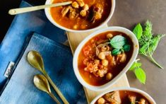 Lamb and chickpea soup Recipes | Christine Capendale