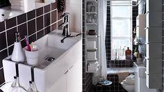 Маленькие функциональные раковины для ванных