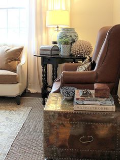 cozy living room - Cote de Texas