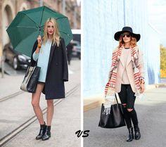 Roupa para o frio VS Roupa para a chuva
