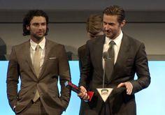Richard receives the DoS award at the Empire Awards, London, 30.3.14