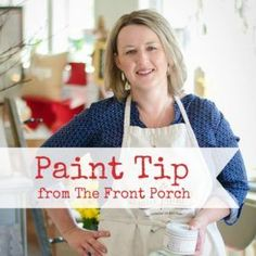 Paint Tip – Prop it up and Turn it Upside-down