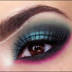 """""""Emerelda"""" -I'm using: @limecrimemakeup primer potion, @makeupgeektv eyeshadows in mermaid (lid), envy (outer corner & crease), shimma shimma (inner corner) and vanilla bean (brow bone). Lime Crime Jade-o-Lade from Chinadoll palette for the transition, Lotus Noir for the outer v. Lower lash line: @LASplash hula hula. Red Cherry lashes #47 from @hbwigs and @anastasiabeverlyhills bold & beautiful brow kit. More details on my blog..."""