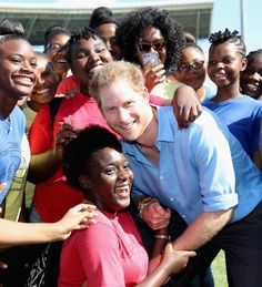Prince Harry Dancing With Kids in the Caribbean 2016 | POPSUGAR Celebrity