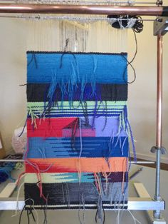 Rebecca Mezoff, Tapestry Artist: The first tapestry class in my new studio