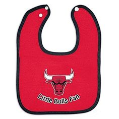 Chicago Bulls Official NBA Infant One Size Baby Bib  http://allstarsportsfan.com/product/chicago-bulls-official-nba-infant-one-size-baby-bib/  Screen print graphics Officially licensed NFL product 100% Cotton terry velour