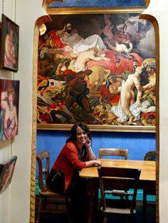 Seven homes of amazing female artists: Wendy Sharpe (Australia) Australian Painting, Australian Artists, Female Painters, Mixed Media Sculpture, Pin Up Art, Artist At Work, Art Boards, Creative Art, Fiber Art