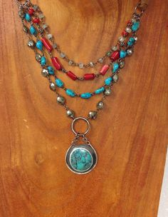 Turquoise jewelry, Turquoise necklace, Turquoise, south western jewelry, Sundance jewelry, South western style, red coral jewelry, by seaglasscrystalmoon on Etsy