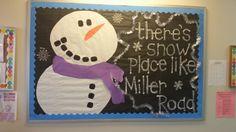 #snowman #bulletinboard #preschool