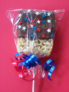 4th of July Rice Crispy Treat | Flickr - Photo Sharing!