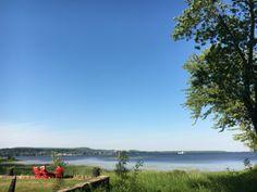 Wonderful, wonderful Auberge! Our sweet spot with lake views.