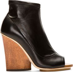Maiyet: Stretch Wedge Ankle Boots | SSENSE