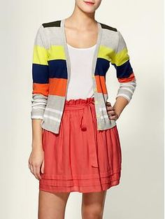 LOVE stripes! Want this in both colors.