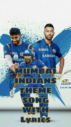 This is the Theme song of Mumbai Indians in Indian premier league (IPL) 2020 Team Theme, Theme Song, Indian Flag Colors, Mumbai Indians Ipl, New Mumbai, India Cricket Team, Match Score, 10 Most Beautiful Women, Vans Hi