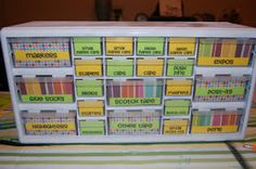 Jack of all Trades: Teacher Toolbox: Organization Central