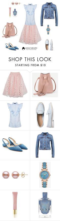 """""""Tulle skirt"""" by annaturcato ❤ liked on Polyvore featuring Boohoo, SET, Gap, Paul Andrew, even&odd and AERIN"""
