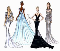Personal Picks of Best Dressed at the 2014 Oscars by Hayden Williams: Kate Hudson in Atelier Versace, Lupita Nyong'o in Prada, Charlize Theron in Dior & Angelina Jolie in Elie Saab.