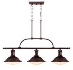 Three Light Trestle @ Lighting Warehouse