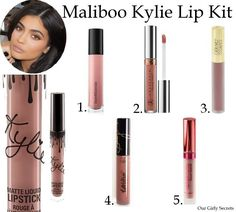 Kylie Lip Kit Maliboo