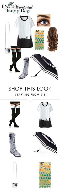 """Rainy day"" by vic-valdez on Polyvore featuring ShedRain, Kate Spade and Casetify"