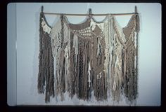 macrame wall hanging | Macrame wall hanging; Dianne, George; 1074037 - Craft Australia on ...