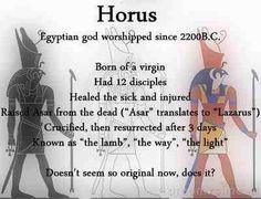 Horus - Egyptian Mythology                                                                                                                                                     More
