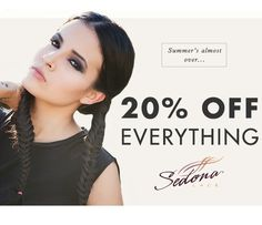 Summer's almost over and Sedona Lace is having a sale to start your Fall season off right! 20% Off Everything Sitewide! The prices have already been changed to reflect the discount. There is no need for a promo code. Sale ends 9/8/14 11:59 PM EST. Check out our their new items here: http://www.sedonalace.com/Makeup/14/New.aspx
