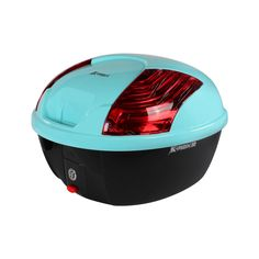 K-Max Topcase (30 LT, Quick Release); Genuine Color Matched Turquoise Blue (592)