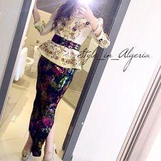 Encore une jolie Karakou moderne porté par la charmante @rania___ben By @nabila_chibah