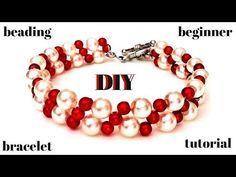 Fancy Seed Bead Flowers Bracelet Tutorial - YouTube