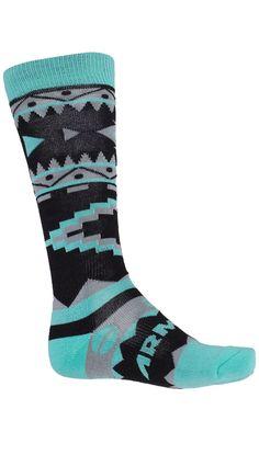 Double Diamond Merino Sock -