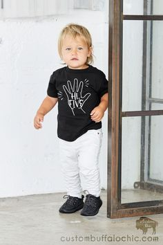 Hi Five Birthday Shirt 5th Birthday Boys, Birthday Boy Shirts, Birthday Ideas, Toddler Boy Fashion, Toddler Boys, Kids Fashion, Hi Five, Dinosaur Outfit, Unique Gifts For Kids