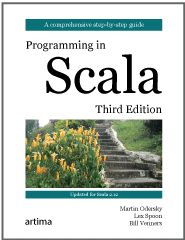 Programming in Scala, Third Edition cover
