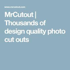 MrCutout | Thousands of design quality photo cut outs