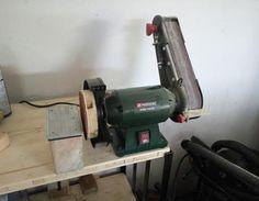 schleifbock umbauen auf tellerschleifer Holz,Tellerschleifer
