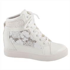 Sneakers cu siret 5308-ALB - Reducere 55% - Zibra.ro