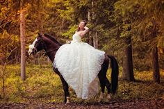 Russian photographer Akira Katran. stunning color, extraordinary, beautiful, Duchess, the Duchess, a woman on a horse, the horse, the bride on a horse, the dress, the horse in the forest, autumn, fairy tale, gothic, goth, лес,красавица, платье,фотограф,сказка,bella addormentata, belle, racconto (if you want to learn more about the photographer, pm me) russian face, russian girl