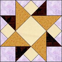 Block of Day for January 14, 2016 - Triple Star strip piecing- The pattern may be downloaded until:Sunday, January 31, 2016.