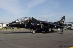 Royal Navy, BAe Sea Harrier T8, ZB604.
