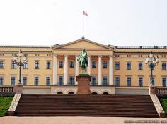 The Royal Palace in Oslo Norway Oslo, Royal Palace, Castle, Louvre, Spaces, Mansions, Architecture, House Styles, Building