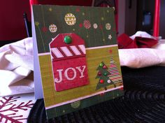 Christmas cards are too fun to make to just stop at 5...